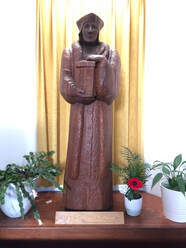 Patronal Statue at St John Fisher